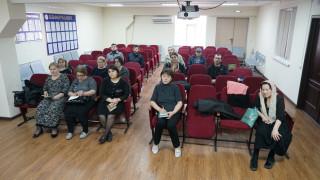 Занятия с курсантами последипломного образования