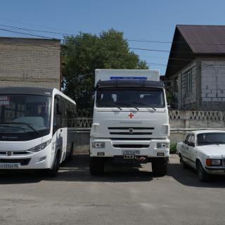 Дагестан получил высокопроходимый автомобиль скорой помощи