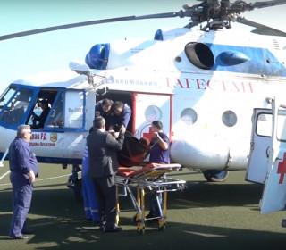 Проведена авиамедицинская эвакуация беременной женщины
